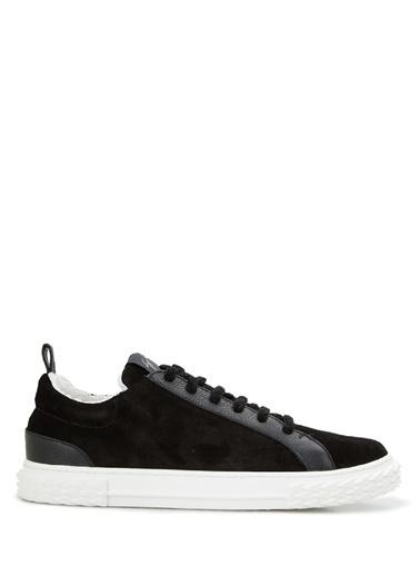 Giuseppe Zanotti Giuseppe Zanotti  Erkek Süet Sneaker 101625060 Siyah